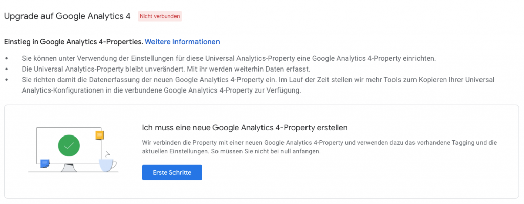 Google Analytics 4 Upgrade
