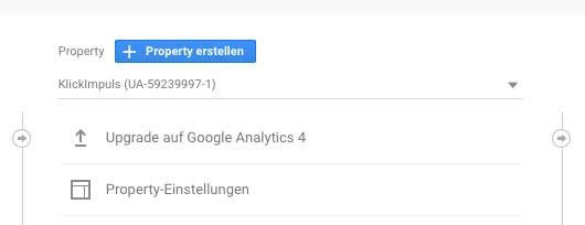 Google Analytics 4 Upgrade Feature